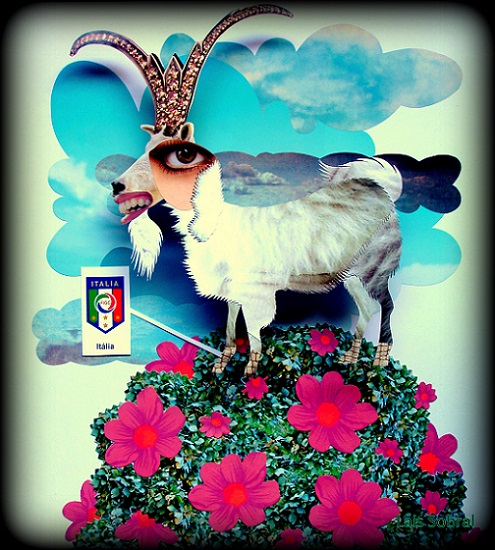 Itália 2014, na arte de Lais Sobral.