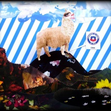Lais Sobral criou uma mascotinha pro Chile : http://www.flickr.com/photos/lais-sobral/