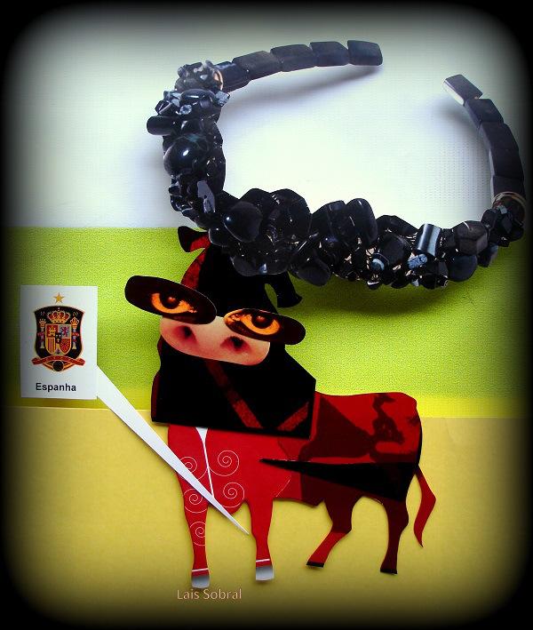 Mascote da Espanha bolado por Lais Sobral : http://www.flickr.com/photos/lais-sobral/