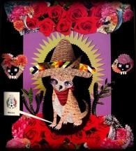 Mascote criada por Lais Sobral para representar o México : https://www.flickr.com/photos/lais-sobral/