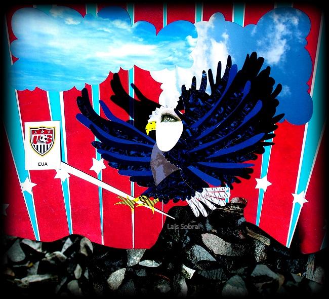 Uma mascote para a seleção dos Estados Unidos, por Lais Sobral.