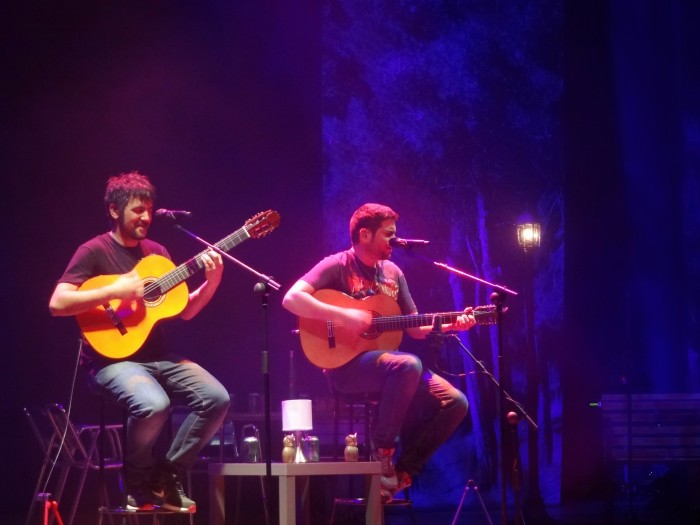 Estopa em A Coruña, 23 de maio de 2014.