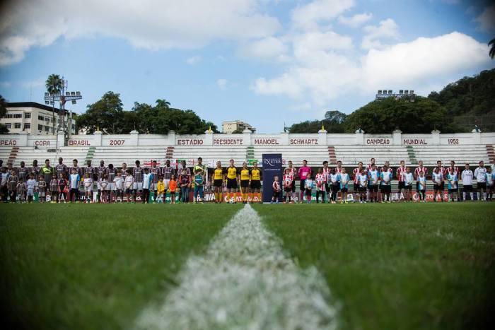 20/07/2014: Flu x Exeter City. Foto BRUNO HADDAD | Fluminense FC