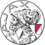 Escudo anterior do Ajax. Tem torcedor que quer esse distintivo de volta.