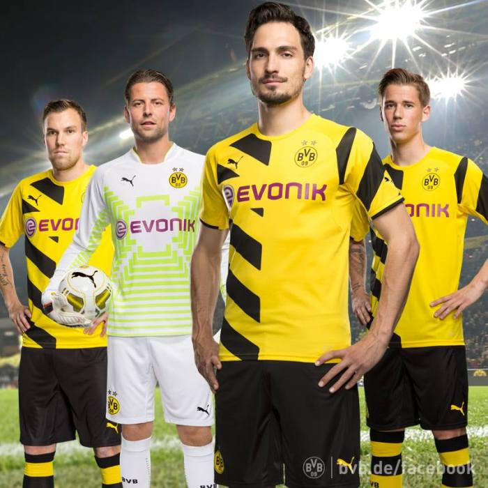 Grosskreutz, Weidenfeller, Hummels, Erk Durm. Os quatro tetracampeões do Borussia : https://www.facebook.com/BVB