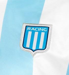 Atual escudo do Racing