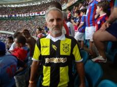 Torcedor do Bahia e do Ypiranga, time de coração do escritor Jorge Amado.