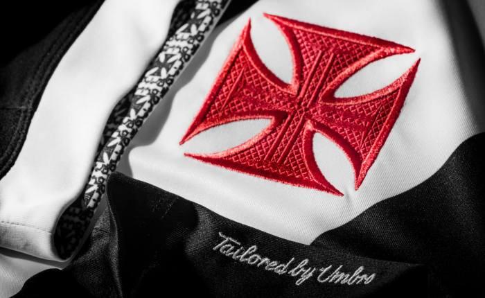 As novas camisas do Vasco da Gama – taylored byUmbro.