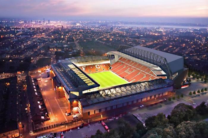 Como vai ser a vista aérea de Anfield
