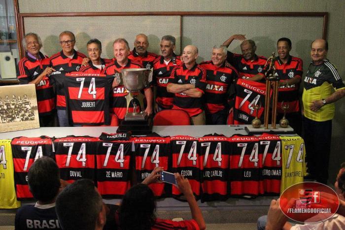 Os campeões do Rio em 1974 https://www.facebook.com/FlamengoOficial?fref=ts