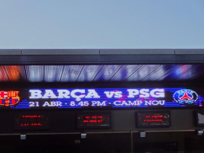 Barça 2-0 PSG, abril de 2015. Neymar Jr e Don Andres Iniesta confirmam a 11ª semifinal de Champions doBarça!