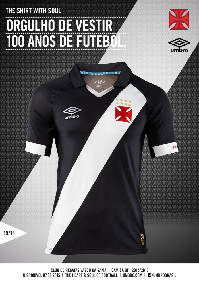 Vasco 2015-17. By Umbro.