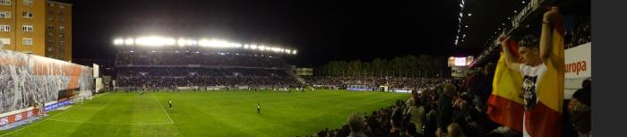Giro do @FutPopClube pelo estádio do RayoVallecano