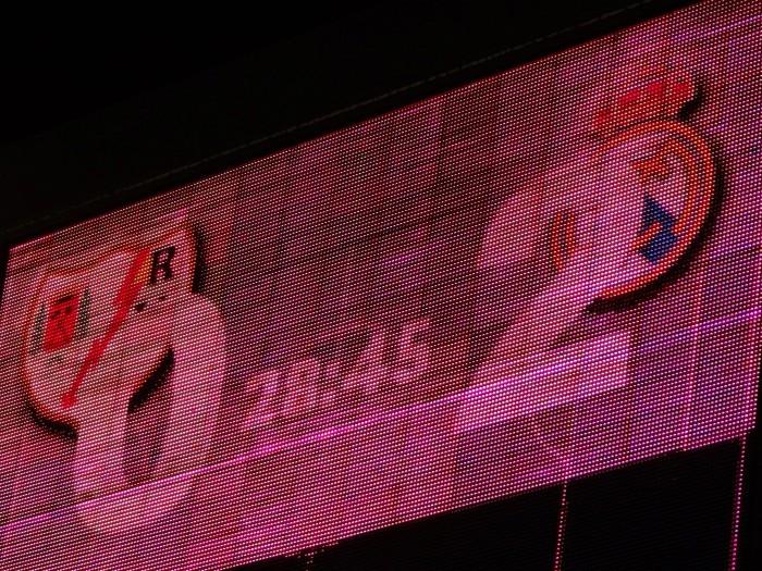 ... o placar não teria passado sem pelo menos um gol do Rayo