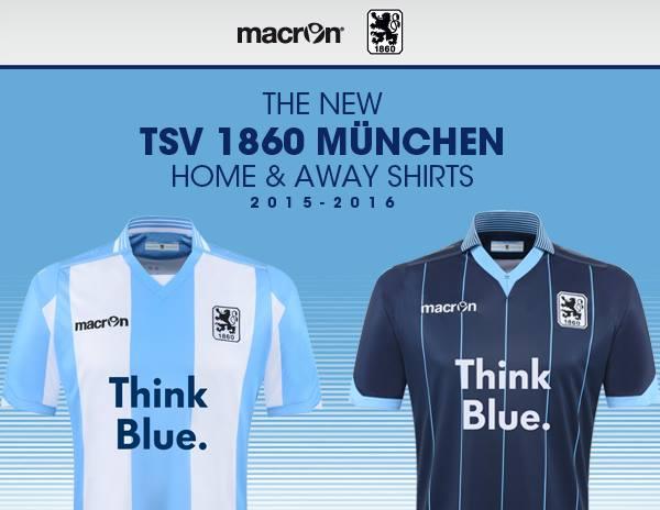 Olha como a Macron lançou a nova camisa do Munique 1860 (o TSV 1860München).