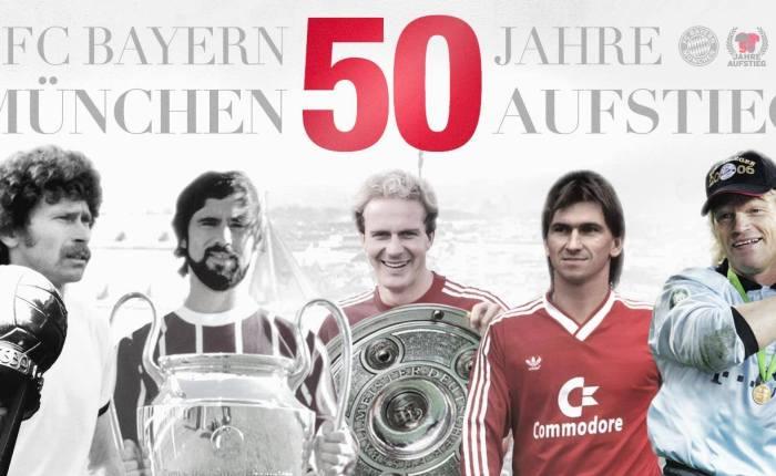 Bayern, 50 anos deBundesliga!