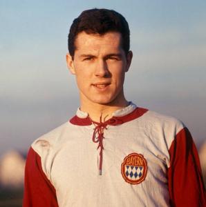 ... e pensar que o Beckenbauer começou no Munique 1860...