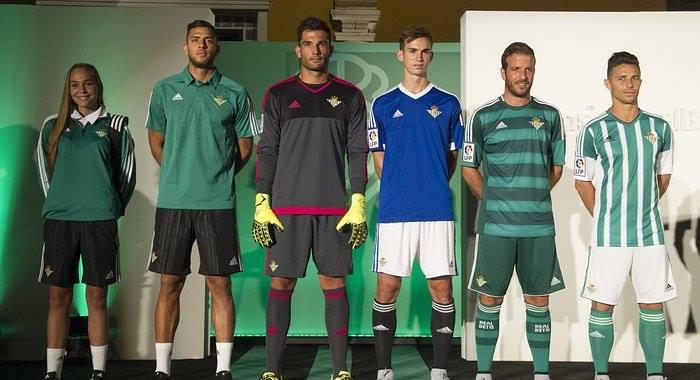 Nuevas equipaciones: Betis 15-16 (Adidas).
