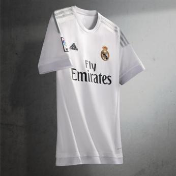 A blanca do Madrid 15-16 (Adidas)