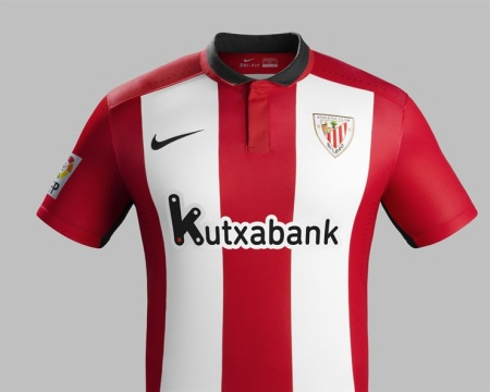 Camiseta principal do Athletic 2015-16