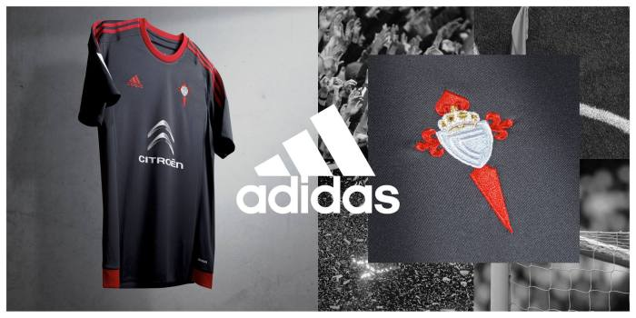 Segunda camiseta do Celta 2015-16 (Adidas)