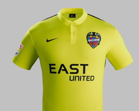 Camiseta 2 do Levante 15-16 (Nike)