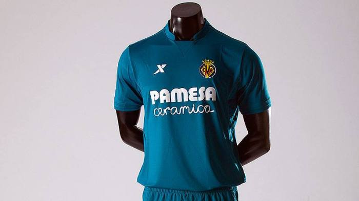 Camiseta 2 do Villareal 15-16 (Extep)
