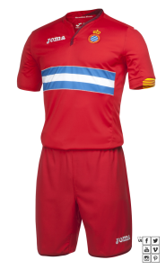 Segunda camiseta do Espanyol 15-16 (Joma)