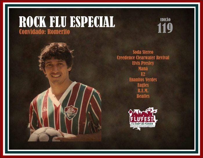 #RockFlu histórico com Romerito e rock enespañol.