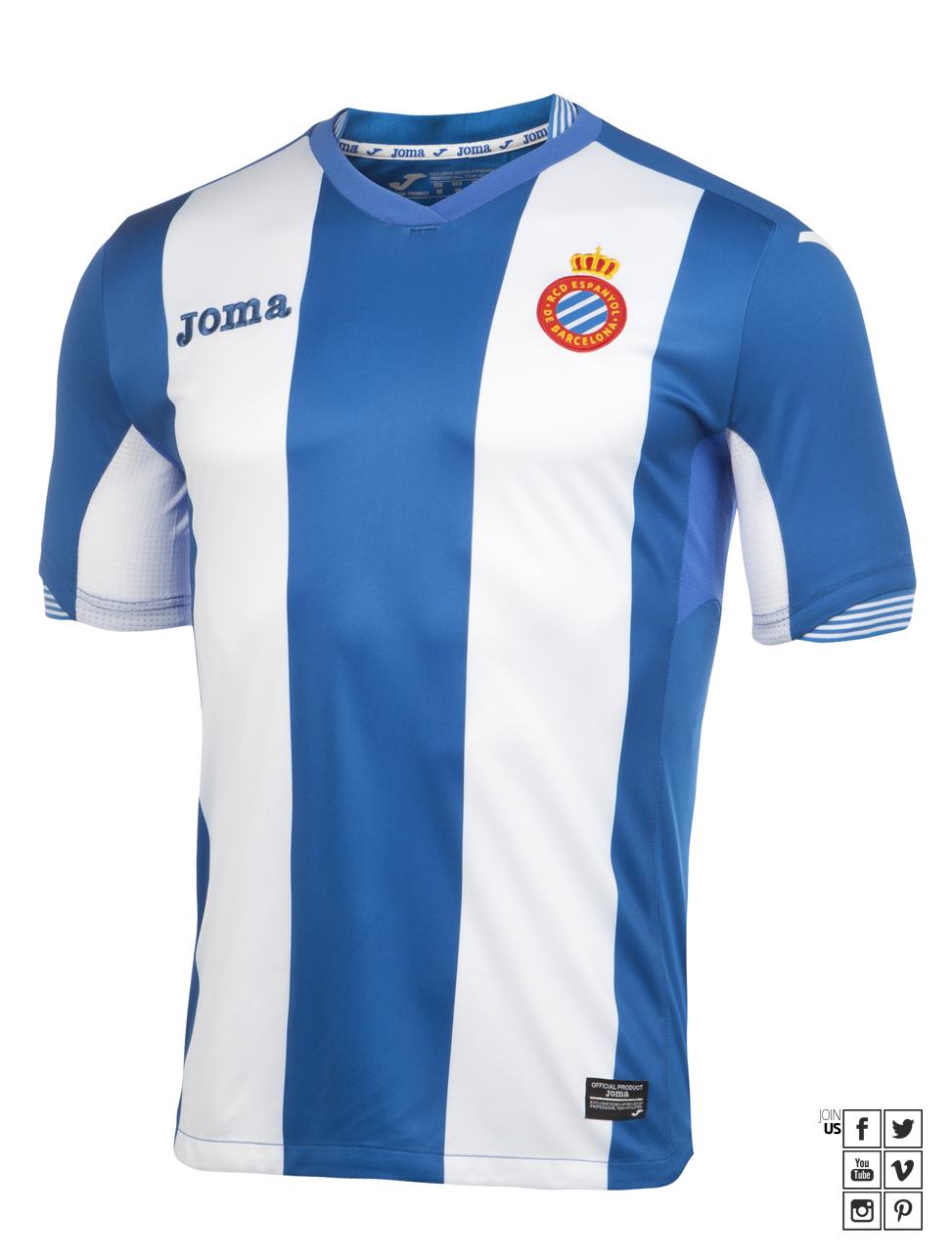 Moda La Liga 2015-16  as camisas do campeonato espanhol. – Fut Pop Clube 7554da2b138e5