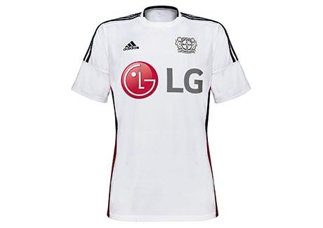 Terceira camisa do Bayer Leverkusen 2015-16.