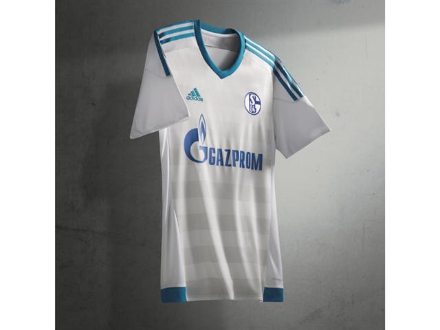 Segunda camisa do Schalke para 2015-16.