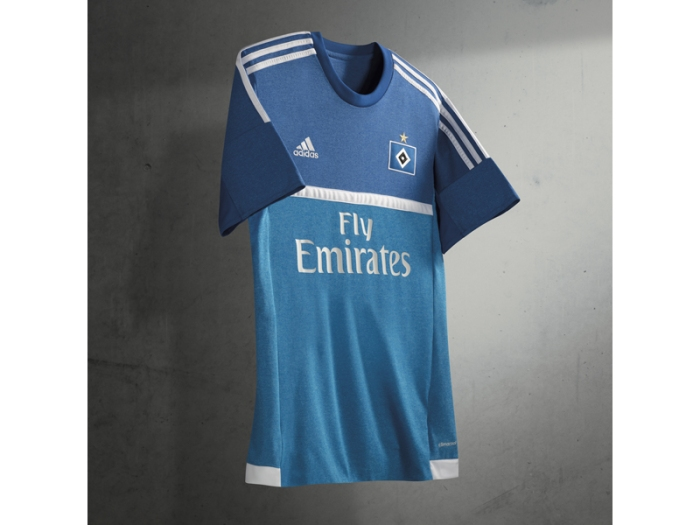 HSV 2015-16: a segunda camisa do Hamburgo pra temporada.
