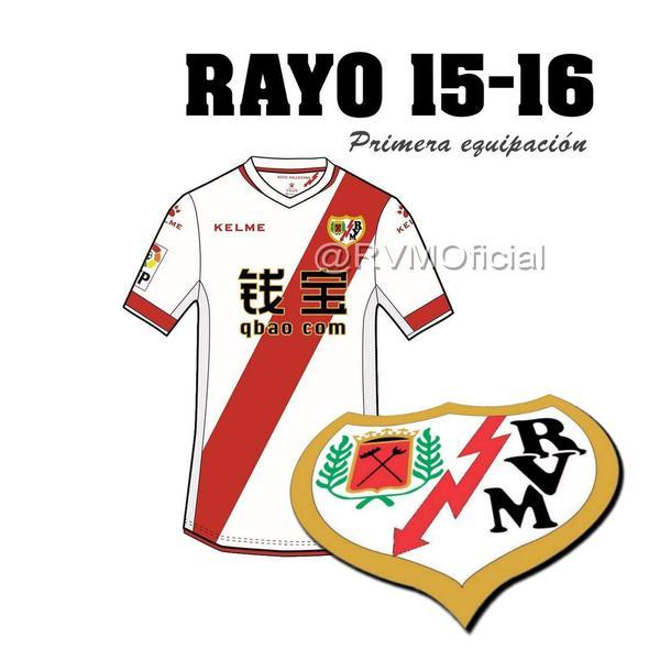 A camisa arco-íris do Rayo Vallecano 24fe99fdd49c9