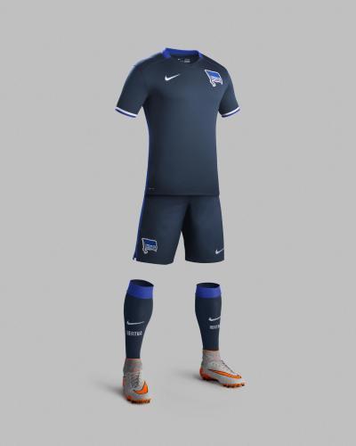 Segunda camisa do Herta pra 2015-16.
