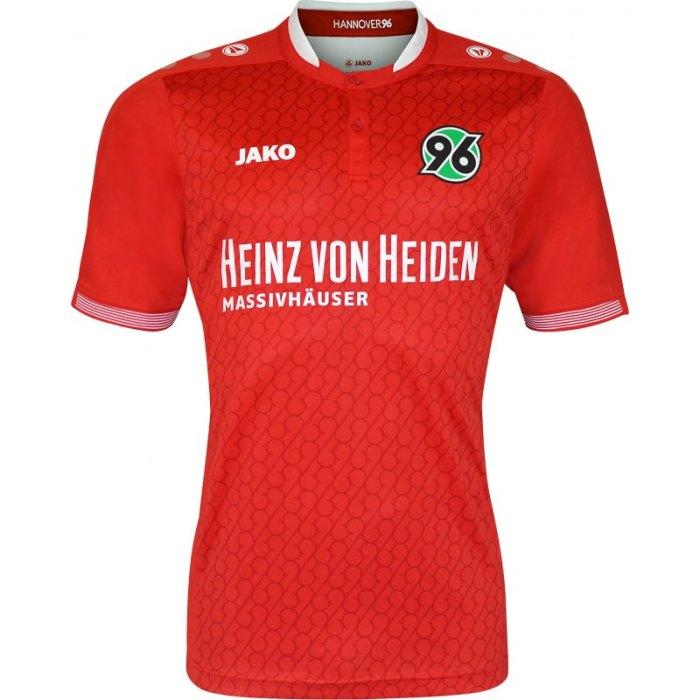Hannover 96: primeira camisa 2015-16. Da Jako.