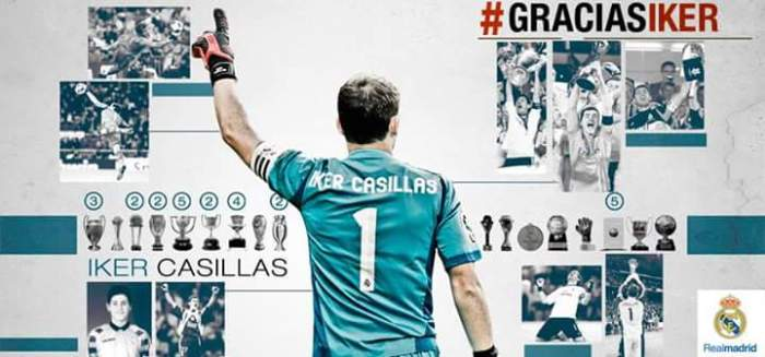 Madrid diz #GraciasIker. Foi um 'adiós' ou um 'hasta lluego' aCasillas?