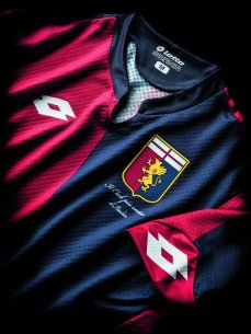 Genoa. Prima maglia 2015-16.