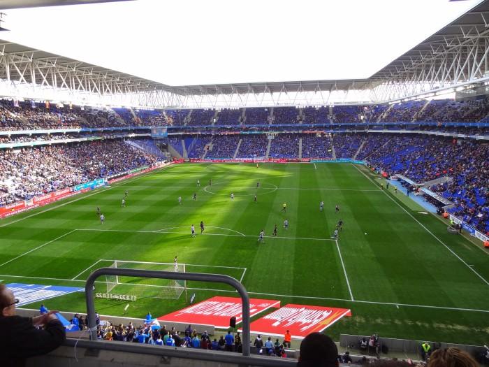 A casa nova do Espanyol