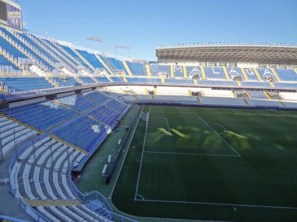Aqui joga o Málaga, do coração do Antonio Banderas.
