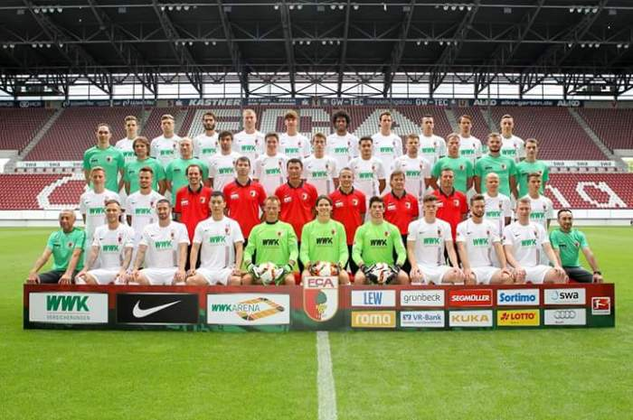 O FC Augsburg veste Nike.