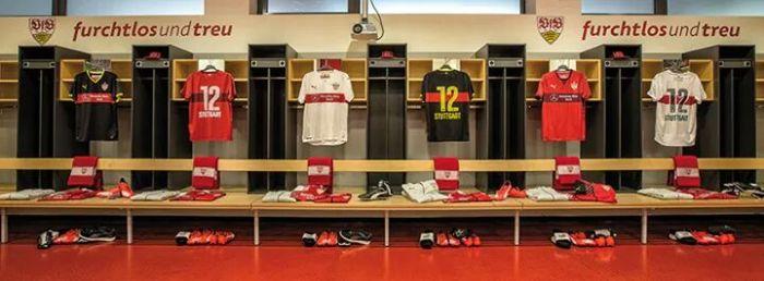 Camisas do Stuttgart para 2015-16. Da Puma.