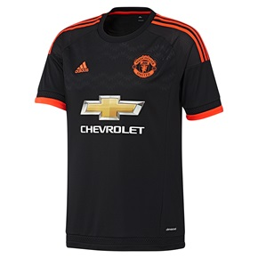 Terceiro kit do United 2015-16.