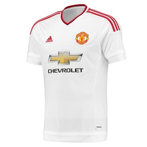 Segundo uniforme do Man Utd 2015-16
