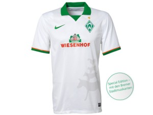 Mais um uniforme do Werder Bremen