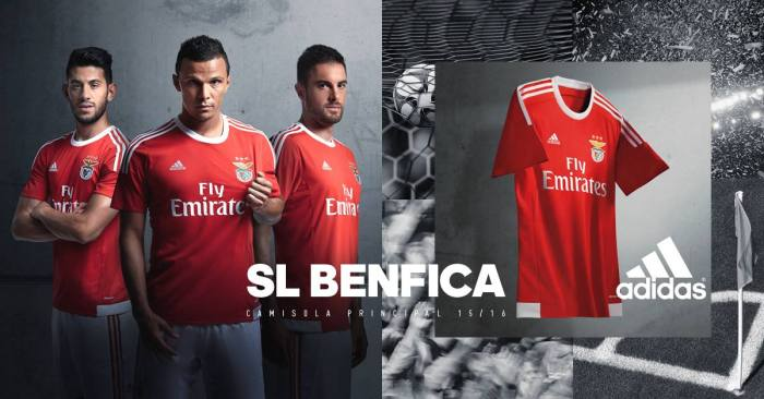 Camisola principal do SLB 2015-16.