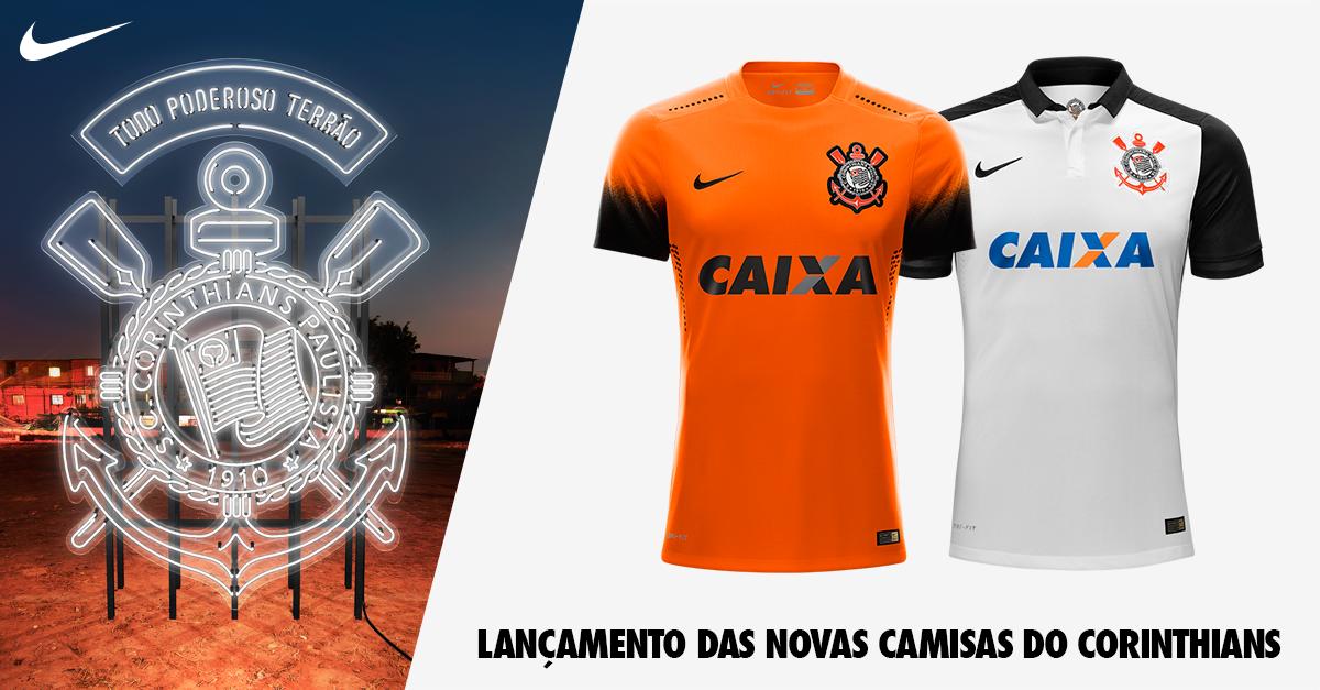 ad43ad164e camisa laranja do Corinthians – Fut Pop Clube