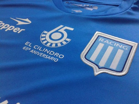 Segunda camisa alternativa Racing 2015 - Topper.