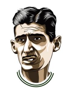 Caricatura de Julinho Botelho