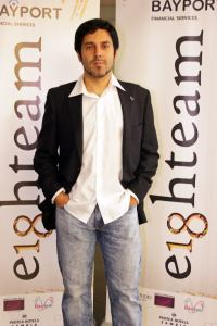 O diretor Juan Rodríguez-Briso
